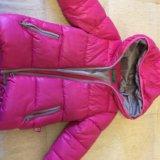 Детская удлиненная куртка benetton. Фото 1.