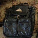 Рюкзак женский новый кожаный. Фото 1.