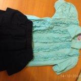 Блузка и новая юбка р.116-122. Фото 2. Пермь.