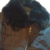 Пальто пуховик. Фото 2.