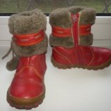 Зимние сапоги шаговита нат.кожа нат.мех размер 25. Фото 3.