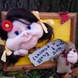 Панно.кукла. Фото 2.