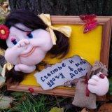 Панно.кукла. Фото 3.