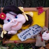 Панно.кукла. Фото 4.