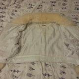 Укороченная кожаная куртка. Фото 3. Коломна.