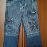 Тёплые джинсы 146 рост. Фото 1. Москва.