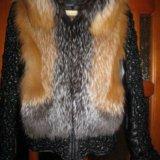 Куртка из натуральной кожи с мехом. Фото 2.