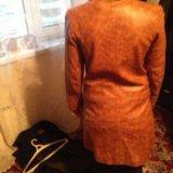 Пальто кожа. Фото 2. Москва.