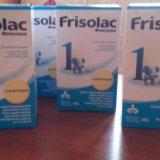 Детская смесь  frisolac 1 (с рождения). Фото 1.