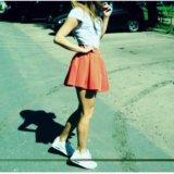 Красная юбка. Фото 1. Москва.