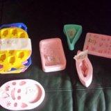 Силиконовые формы для мыла. Фото 1.