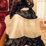 Шикарное кружевное длинное платье. Фото 1.