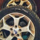 Комлект зимних колес в сборе kumho на оригинальных. Фото 1.