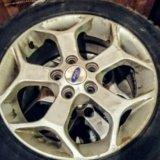 Комлект зимних колес в сборе kumho на оригинальных. Фото 3.
