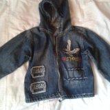 Куртка джинс.. Фото 1. Москва.