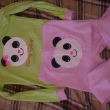Сша 3-4г пижама для девочки как новая 98-104. Фото 1.