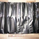 Набор расчесок dewal в чехле 8 предметов черный. Фото 1.