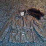 Куртка кож зам размер 46-48. Фото 1.