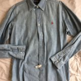 Ralph lauren мужская рубашка б/у размер m/l. Фото 1. Москва.