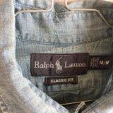Ralph lauren мужская рубашка б/у размер m/l. Фото 4. Москва.