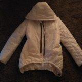 Куртка белая осень тёплая зима. Фото 1. Смоленск.