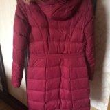 Зимний пуховик пальто. Фото 4.