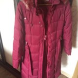 Зимний пуховик пальто. Фото 2.