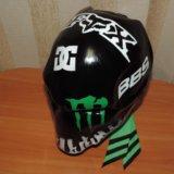 Шлем! монстер энерджи. Фото 1.