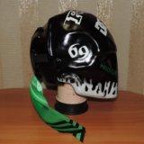Шлем! монстер энерджи. Фото 3.