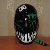 Шлем! монстер энерджи. Фото 4.