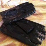 Перчатки кожа. Фото 4.
