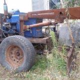 Самодельный трактор. Фото 1.
