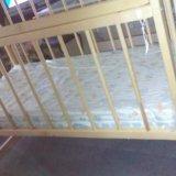 Кроватка детская качалка. Фото 1. Калининская.