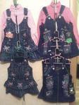 Джинсовая одежда для девочек и мальчиков. Фото 1.