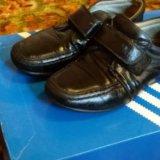 Туфли для мальчика(кожа). Фото 1. Клин.