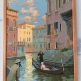 """Картина гобелен """"венеция"""" 55х77см. Фото 1. Тюмень."""