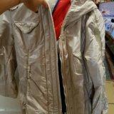 Куртка бежевая зимняя. Фото 1. Владикавказ.