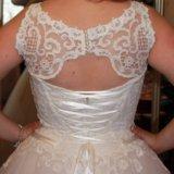 Свадебное платье. Фото 3. Долгопрудный.