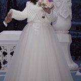 Свадебное платье. Фото 1. Долгопрудный.