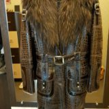 Пальто-дубленка. Фото 2.