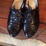 Полу ботинки натуральный лак размер 38 фирма респе. Фото 1. Москва.