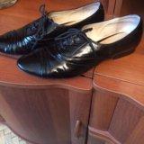 Полу ботинки натуральный лак размер 38 фирма респе. Фото 2. Москва.