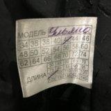 Шуба мутон с чернобуркой 42-44 р. Фото 2.