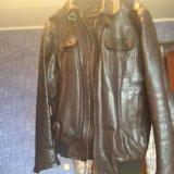 Куртка натуральная кожа. Фото 3. Москва.