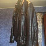 Куртка натуральная кожа. Фото 2. Москва.