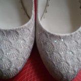 Свадебные туфли.. Фото 4. Санкт-Петербург.