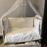 Детская кроватка. Фото 2. Люберцы.