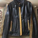 Куртка кожаная. Фото 1. Москва.