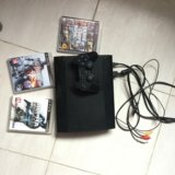 Sony ps3 slim. Фото 1.