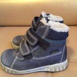 Экко ботинки ecco. Фото 1.